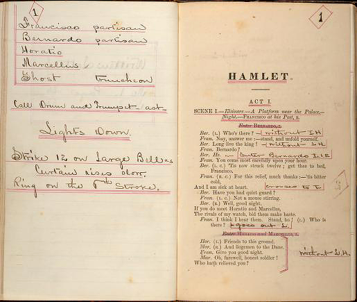 macbeth prompt book Prompt book copy of macbeth, compiled by actor lark taylor based on the shakespearean productions of julia marlowe and eh sothern, in which taylor acted.